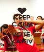 KEEP CALM AND VOTE  YAKIV - Personalised Poster A4 size