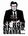 KEEP CALM AND W GERMANO MOSCONI - Personalised Poster A4 size