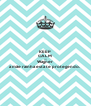 KEEP CALM AND Wagner a mãe rainha esta te protegendo.  - Personalised Poster A4 size