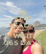 KEEP CALM AND WAIT 365 DAYS - Personalised Poster A4 size