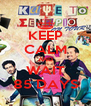 KEEP CALM AND WAIT 85 DAYS - Personalised Poster A4 size