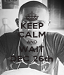 KEEP CALM AND WAIT DEC 26th - Personalised Poster A4 size