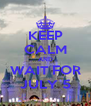 KEEP CALM AND WAIT FOR JULY 5 - Personalised Poster A4 size