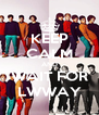 KEEP CALM AND WAIT FOR LWWAY - Personalised Poster A4 size