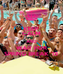 KEEP CALM AND WAIT FOR SPRING BREAK '13 - Personalised Poster A4 size