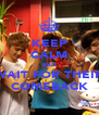 KEEP CALM AND WAIT FOR THEIR COMEBACK - Personalised Poster A4 size