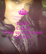 KEEP CALM AND Wake up with Leesh ON 98.7 - Personalised Poster A4 size