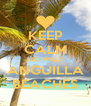 KEEP CALM AND WALK ANGUILLA BEACHES - Personalised Poster A4 size