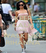 KEEP CALM AND WALK LIKE RIHANNA - Personalised Poster A4 size