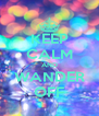 KEEP CALM AND WANDER OFF - Personalised Poster A4 size