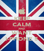 KEEP CALM AND WANT I-PHONE 5 - Personalised Poster A4 size