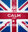 KEEP CALM AND watch a movie in the British House - Personalised Poster A4 size