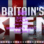 KEEP CALM AND WATCH BRITAINS GOT  TALENT - Personalised Poster A4 size