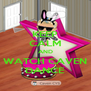 KEEP CALM AND WATCH CAVEN DANCE - Personalised Poster A4 size
