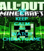 KEEP CALM AND WATCH CHEKAYGAME - Personalised Poster A4 size