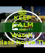 KEEP CALM AND Watch  class horse TV - Personalised Poster A4 size
