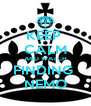 KEEP  CALM AND WATCH FINDING  NEMO - Personalised Poster A4 size