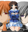 KEEP CALM AND WATCH FRUITS BASKET - Personalised Poster A4 size