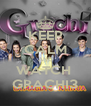 KEEP CALM AND WATCH  GRACHI3 - Personalised Poster A4 size