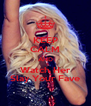 KEEP CALM AND Watch Her Slay Your Fave - Personalised Poster A4 size