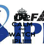 KEEP CALM AND WATCH IPL!!!!! - Personalised Poster A4 size