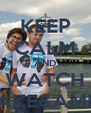 KEEP CALM AND WATCH JAKE&AMIR - Personalised Poster A4 size