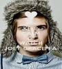 KEEP CALM AND WATCH JOEY GRACEFFA - Personalised Poster A4 size