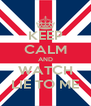 KEEP CALM AND WATCH LIE TO ME - Personalised Poster A4 size