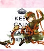 KEEP CALM AND WATCH maruMA - Personalised Poster A4 size