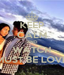 KEEP CALM AND WATCH MUST BE LOVE - Personalised Poster A4 size