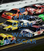 KEEP CALM AND Watch NASCAR  - Personalised Poster A4 size
