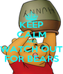 KEEP CALM AND WATCH OUT FOR BEARS - Personalised Poster A4 size