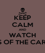 KEEP CALM AND WATCH PIRATES OF THE CARIBBEAN - Personalised Poster A4 size