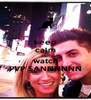 keep calm AND watch PVP SANNNNNN - Personalised Poster A4 size