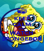 KEEP CALM AND WATCH SPONGEBOB - Personalised Poster A4 size