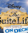 KEEP CALM AND WATCH Suite life on deck - Personalised Poster A4 size