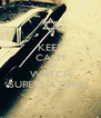 KEEP CALM AND WATCH SUPERNATURAL - Personalised Poster A4 size