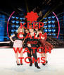 KEEP CALM AND WATCH TCMS - Personalised Poster A4 size