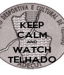 KEEP CALM AND WATCH TELHADO - Personalised Poster A4 size