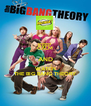 KEEP CALM AND WATCH THE BIG BANG THEORY - Personalised Poster A4 size