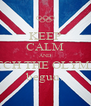 KEEP CALM AND WATCH THE OLYMPICS begun. - Personalised Poster A4 size