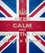KEEP CALM AND Watch The Only Way Is Essex - Personalised Poster A4 size