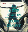 KEEP CALM AND WATCH THE RUM DIARY - Personalised Poster A4 size