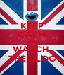 KEEP CALM AND WATCH  THE VLOG - Personalised Poster A4 size