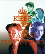 KEEP CALM AND WATCH THE X-FILES - Personalised Poster A4 size