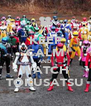 KEEP CALM AND WATCH TOKUSATSU - Personalised Poster A4 size