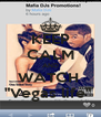 """KEEP CALM AND WATCH  """"Vegas life""""  - Personalised Poster A4 size"""