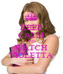 KEEP CALM AND WATCH VIOLETTA - Personalised Poster A4 size