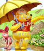 KEEP CALM AND watch Winnie the Pooh - Personalised Poster A4 size