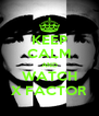 KEEP CALM AND WATCH X FACTOR - Personalised Poster A4 size